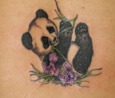 Cute Panda Tattoos | Panda Bear Tattoo Pics || Tattoo from Itattooz