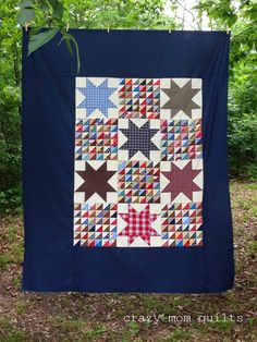 reclaimed stars - crazy mom quilts