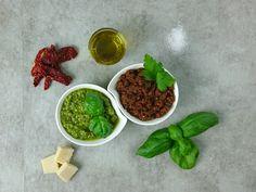 2 leckere Grundrezepte für Pesto.