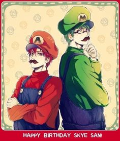 Kuroko no Basket x Super Mario?!?! Well, thats Seirio and Midouigi for you.