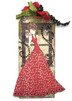 Look at Dawn Rene's Prima Doll Tag, she used the Authentique Joyous Collection.