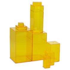 The Container Store > Yellow Amac Boxes