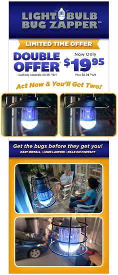 13 Best Bonlux LED Bug Zapper Light Bulb images
