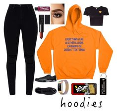 """Hoodie"" by cris05 on Polyvore featuring Converse, Manic Panic NYC, Various Projects and Hoodies"