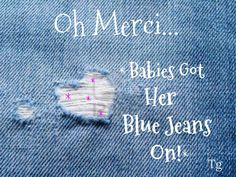 """Good Morning! I am glad to see we can comment again. The ~Hand-Out~ Cottage ... """"Awesome"""". Today, Lets """"Sprinkle"""" Babies Got Her Blue Jeans On. Demimn & Pearls, Roses, Of course ... High Heel Shoes. Watch Out ... Here She Comes. Please end your pod w/this pin. Always, Always ... Stay Blessed!"""