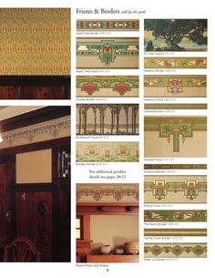 Arts & Crafts Collection by Bradbury & Bradbury Art Wallpapers #artsandcraftsarchitecture,