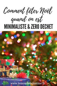 Comment fêter Noël minimaliste et zero dechet