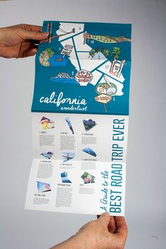 San francisco travel map & city guide on behance Pamphlet Design, Leaflet Design, Map Design, Travel Design, Flyer Design, Design City, Pag Web, The Beast, San Francisco Travel