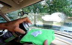 How to clean the inside of car window and make it shine---Tip Hero