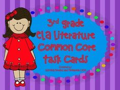 ELA 3rd Grade Common Core Task Cards: Great Review
