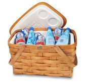 100% American Made handcrafted Peterboro Picnic Baskets.