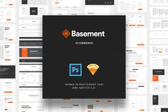 Basement Ecommerce by Great Simple on Creative Market
