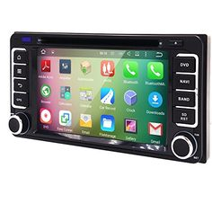 Quad root Android 2 Din In Dash HD 1024600 Capacitive hint display screen car vehicle DVD person GPS Navigation AM FM radio channel for Toyota Corolla Camry Tundra Previa Highlander Yaris Prado Hilux Toyota Corolla, Toyota Hilux, Quad, Gps Tracking System, Mirror Link, Record Clock, Android, Video Games For Kids, Car Videos