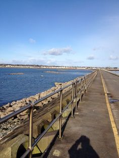 The walkway back from the Mutton Island Lighthouse in Galway Bay Galway Ireland, Best Memories, Lighthouses, Walkway, Im In Love, Some Pictures, Shades Of Green, Irish, Heaven