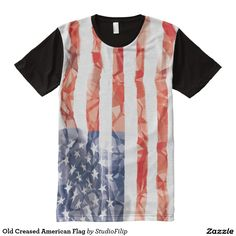 Old Creased American Flag | To SAVE a lot just enter the Discount Code at checkout! >>> It's right under the menu on each product page!