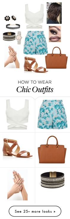 """""""MK"""" by mswellsfashion on Polyvore featuring New Look, Humble Chic, MICHAEL Michael Kors, GUESS and Kate Spade"""
