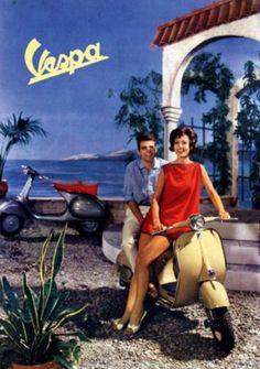 Vespa ~ Anonym | #Scooters #Vespa #Italiandesign
