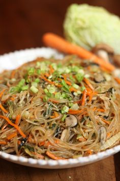 Related posts: Korean Noodles (Chap Chae) Recipe Japchae or chap chae is a popular Korean noodle dish made with sweet potato nood… Korean Glass Noodle Stir Fry (Chap Chae Vegetarian Chap Chae (Korean Noodles With Vegetables) Korean Bbq Side Dishes, Side Dishes For Bbq, Veggie Side Dishes, Food Dishes, Entree Recipes, Side Dish Recipes, Asian Recipes, Cooking Recipes, Ethnic Recipes