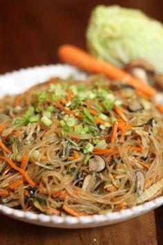 Chap Chae (Korean Side Dish) | Jenny Evans