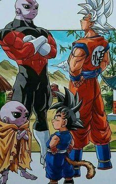 Daily dragon ball then and now & Manga Wallpaper Animes, Animes Wallpapers, Dragon Ball Image, Dragon Ball Gt, Z Arts, Anime Comics, Cartoon, Goku Vs Jiren, Tolu
