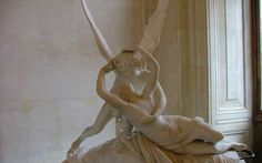 Cupid and Psyche in the Louvre, Paris Greek Statues, Angel Aesthetic, Pale Aesthetic, Aesthetic Grunge, Renaissance Art, Art And Architecture, Les Oeuvres, Art Museum, Street Art