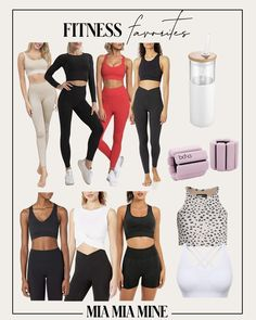 Cute workout clothes is the easiest way to get in the mood to work out. The right set makes me feel put together even if I'm just working at home. Whether you're in need of new leggings or a sports bra that doubles up as streetwear, here are my some of my favorite fitness pieces for the season ahead. #athleisure #gymstyle #leggings #workoutset Cute Workout Outfits, Get In The Mood, Athleisure Outfits, Gym Gear, Gym Style, Simple Style, Streetwear, Leggings, Bra