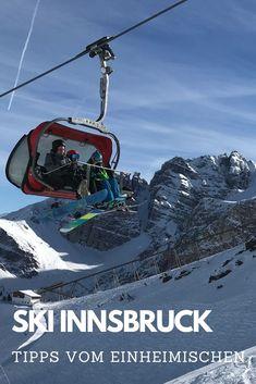 SKIGEBIET INNSBRUCK - welche Skigebiete lohnen sich wirklich? - hier findest du meinen Überblick über alle Skigebiete Innsbruck und Umgebung. Schneesichere Skigebiete, vom Karwendel bis zum Gletscher. #ski #innsbruck #skigebiet #tirol Innsbruck, Reisen In Europa, Mount Everest, Skiing, Mountains, Nature, November, Hotels, Travel