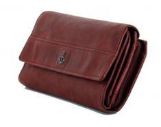!!!Überschlagportmonee Fayette Red Harbour 2nd dunkelrot Messenger Bag, Wallet, Bags, Dark Red, Pocket Wallet, Dime Bags, Leather, Handbags, Handmade Purses