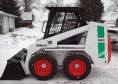 bobcat skid steer loader catalogue parts pdf manual bobcat bobcat 641 642 643 skid steer loader workshop service repair manual