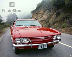 The Chevy Corvair. Unsafe at any speed. (sez pinner-yeah yeah but I still want to drive one)