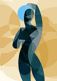 """Arte Peyablo Saatchi de arte del artista; Pintura, """"Música de las Esferas # 11""""…"""
