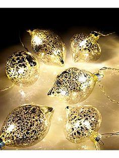 £15 HoF Mercury bauble garland lights