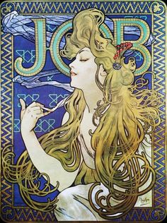 ART NOUVEAU ART Print by Alphonse Mucha named by ArtdeLimaginaire, $25.99