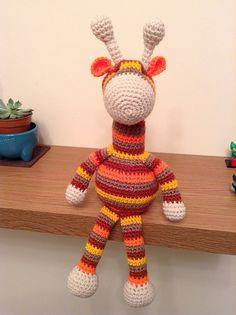 Ravelry: ShellsKitchen's Striped Crochet Giraffe