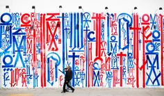 Mural by RETNA Houston and Bowery, NYC
