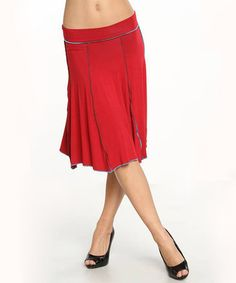 Take a look at this Red Taos Four-Way Skirt on zulily today!