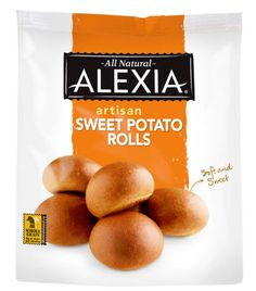 Alexia Foods launches Sweet Potato Rolls