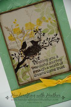 World of Dreams Notepad � Stampin� Up!