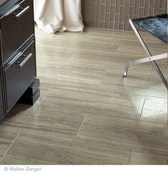 Siena Silver Travertine x Basement Bathroom, Bathroom Flooring, Kitchen Flooring, Travertine Floors, Hardwood Floors, Walker Zanger, Project, Tile Design, Home Renovation