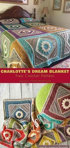 Charlotte's Dream Blanket Free Crochet Pattern