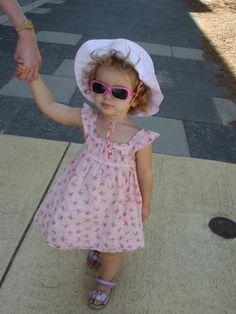 strutting her stuff in freo....