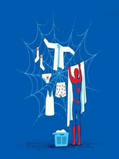 domestic spider man