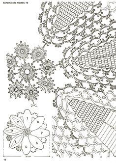 View album on Yandex. Crochet Angel Pattern, Crochet Lace Edging, Filet Crochet, Irish Crochet, Crochet Doilies, Crochet Stitches, Doily Patterns, Baby Knitting Patterns, Crochet Patterns