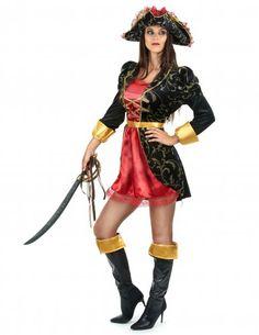 Déguisement pirate baroque femme-1