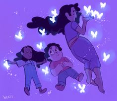 Connie, Steven and Stevonnie