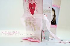 I LOVE this coffee cup album!  Wish I had saved more of these valentine's cups!!!