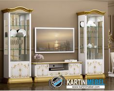 Bufet tv minimalis modern lemari pajangan navikuna Paint Color Palettes, Paint Colors, Muebles Living, Tv Unit, China Cabinet, Projects To Try, Bedroom, Storage, Interior
