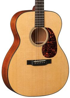 Acoustic-electric Guitar with Sitka Spruce Top, Mahogany Back and Sides, Hardwood Neck, Ebony Fingerboard, and Fishman Electronics - Natural Acoustic, Martin Guitars, Sitka Spruce, Electric, The Incredibles, Cords, Retro, Hardwood, Amp