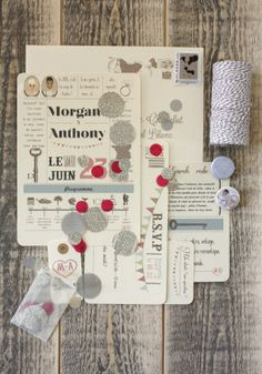 { Mes invitations } | The Perfect Day by Janine