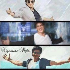 Shahrukh Khan - signature pose - signature style